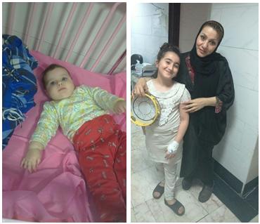 گزارش قصه خوانی در بیمارستان کودکان شهید فهمیده