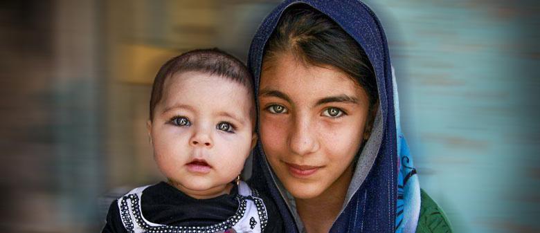 کودکان مهاجر- عکس از بهار محمدیان