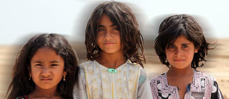 کودکان چابهار- عکس از بهار محمدیان