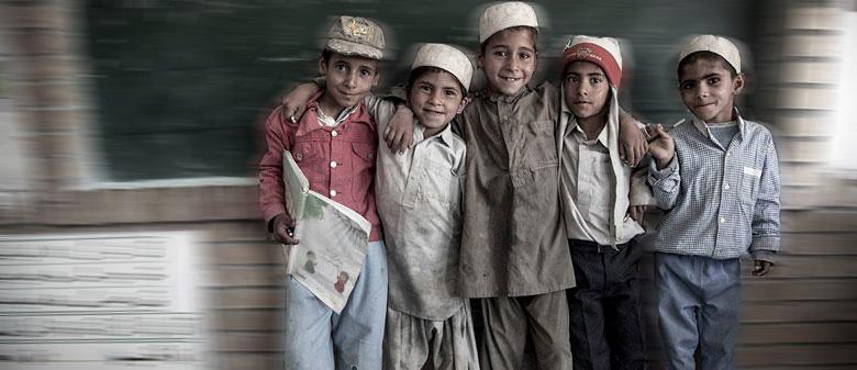 کودکان خراسان جنوبی- عکس از بهار محمدیان